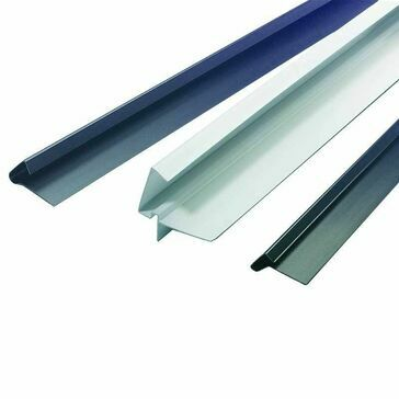 Klober Uni-Line Continuous Dry Verge T-Strip - 5m (Pack of 4)