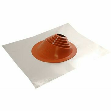 Master Flash RESIDENTIAL No 1 Silicone PIPE FLASHING - 76-203mm