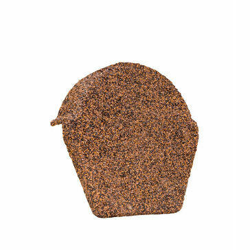 Brown Granulated End Cap