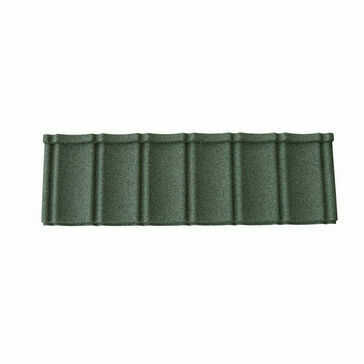 Green Granulated Lightweight Roof Tile