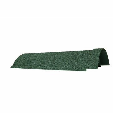 Green Granulated Lightweight Ridge Tile