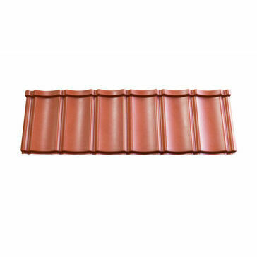Smooth Red Budget Lightweight Roof Tile