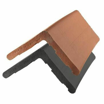 Clay Plain Angle Ridge Tile