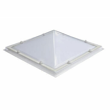 Em Dome S0 Pyramid Rooflight - 400 x 400mm