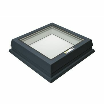 RX R5 Raylux Glass Grey Rooflight - 600 x 900mm (150mm Upstand)