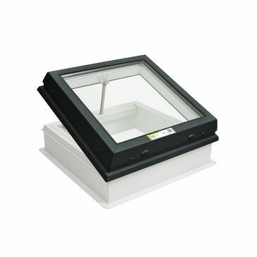RX R5 Raylux Glass Grey  Rooflight (Wall Switch) - 600 x 900mm (150mm Upstand)