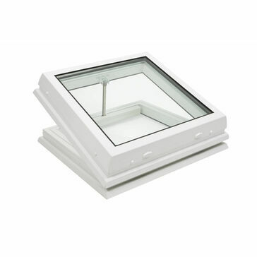 RX S7 Raylux Glass White Rooflight (Electric) - 800 x 800mm