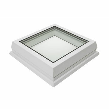 RX R7 Raylux Glass White Rooflight - 700 x 1000mm