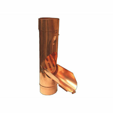 Copper 100 ø Water Diverter