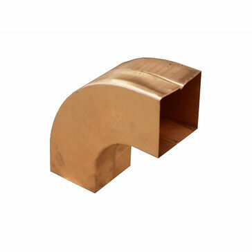 Copper 80x80mm 72º Bend