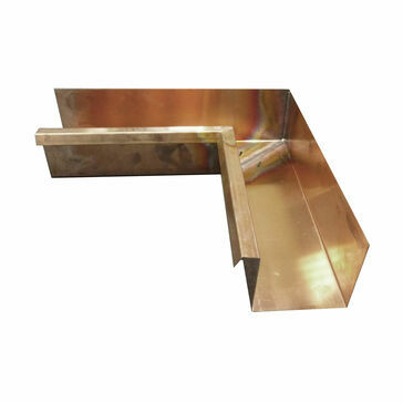 Copper Large Box Corner - Special Angle Internal - 120mm x 90mm