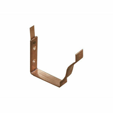 Copper Large Ogee Bracket - Fascia - 152mm x 130mm