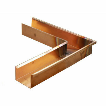 Copper Standard Box Corner - Special Angle External - 90mm x 65mm