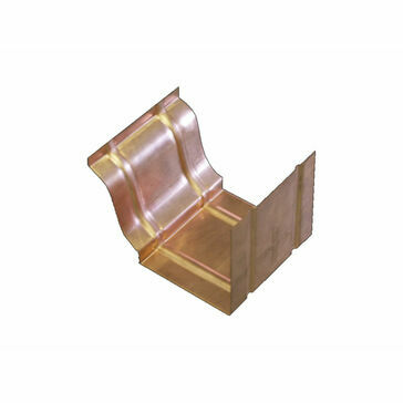 Copper Standard Ogee Gutter - Joint - 127mm x 98mm