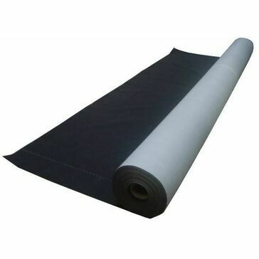 Novia Black Construction Wrap Breather Membrane - 2.7m x 100m