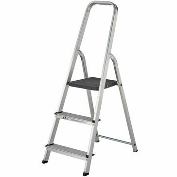 Youngmans EN131 Aluminium Atlas Stepladder (Various Treads)
