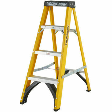 Youngmans S400 Fibreglass Stepladder