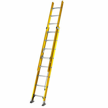 Youngmans S200 Fibreglass Trade 2 Section Extension Ladder