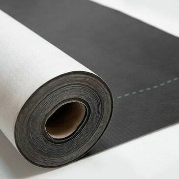 Novia Black 115gsm Roof and Wall Breather Membrane - 1.5m x 50m
