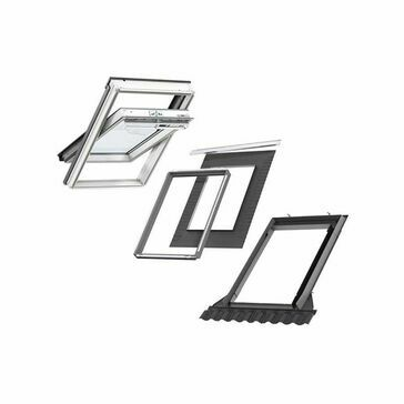 VELUX GGU SK06 S10W03 Window & Flashing Bundle for Tiles - 114cm x 118cm