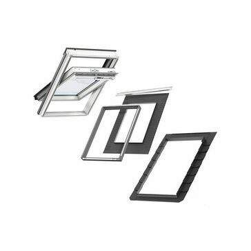VELUX GGU SK06 S10L03 Window & Flashing Bundle for Slate - 114cm x 118cm