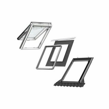 VELUX GPU SK06 S10L03 Window & Flashing Bundle for Slate - 114cm x 118cm