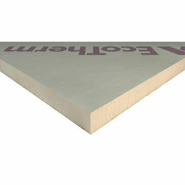 Ecotherm Eco Versal PIR Insulation Board - 100mm x 2400mm x 1200mm