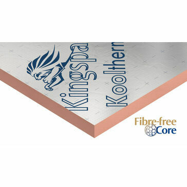 Kingspan Kooltherm K7 Insulation Board - 75mm x 2400mm x 1200mm - Pack of 4