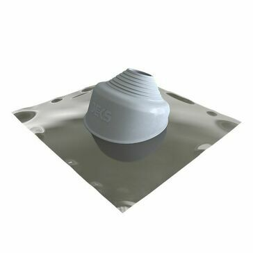 Seldek Aluminium Pitched Roof Flashing - Grey Silicone (150 - 280mm)