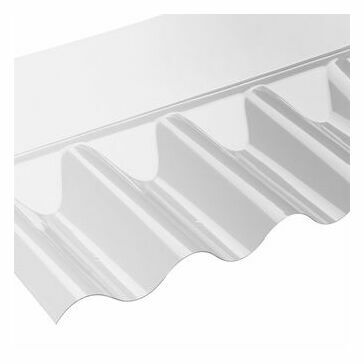 Corolux PVC Wall Flashing for Miniature Profiles - 710mm