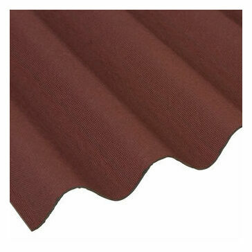 Coroline Corrugated Bitumen Roofing Sheet (Red) - 2000mm x 950mm