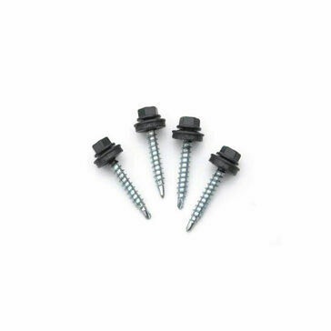 Corotile Metal Lightweight Roofing Screws and Washers (PK 10)