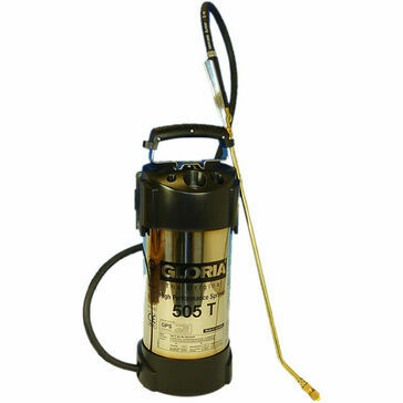 Gloria 505T 5 Litre Compression Sprayer - Stainless - Viton