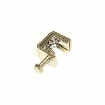 Beam Clamp 0mm - 20mm Corner Fixing Stainless Steel (10 per pack)