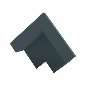 Kytun Slate Dry Verge Apex Unit Aluminium 25mm (90 deg)