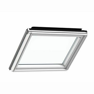 VELUX White Painted Fixed Window Element GIL UK34 2070 - 134cm x 92cm