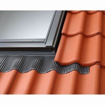 VELUX Twin Roof Vertical Window Tile Flashing EFW SK01 0022B - 114cm x 70cm