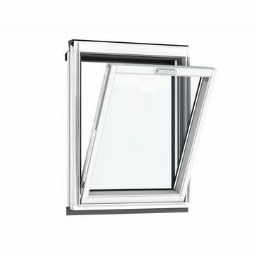 VELUX Vertical White Painted Fixed Roof Window 70 Pane VFE MK31 2070 - 78cm x 60cm
