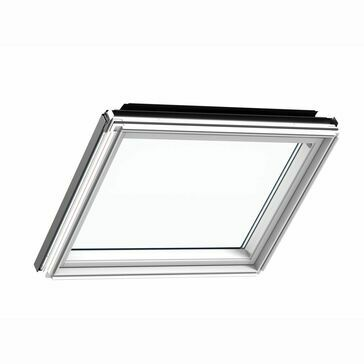 Velux White Painted Pitched Roof Fixed Window Element - GIL 2070