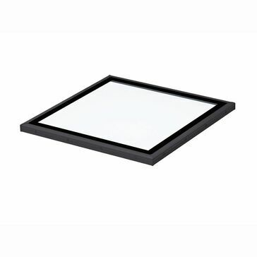 VELUX ISD 090090 2093 Clear Flat Glass Top Cover - 90cm x 90cm