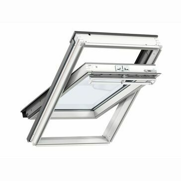 VELUX Conservation Centre Pivot Roof Window for Slate GGL CK04 SD5N2 - 55cm x 98cm