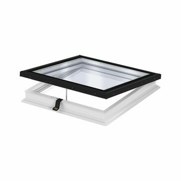 VELUX Electric Flat Roof Window Base Unit 73QV CVP 080080 0673QV - 80cm x 80cm