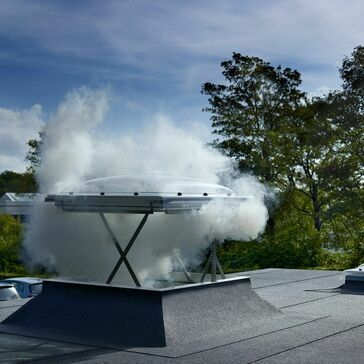 VELUX CSP 120120 1073Q Flat Roof Smoke Ventilation Base - 120cm x 120cm