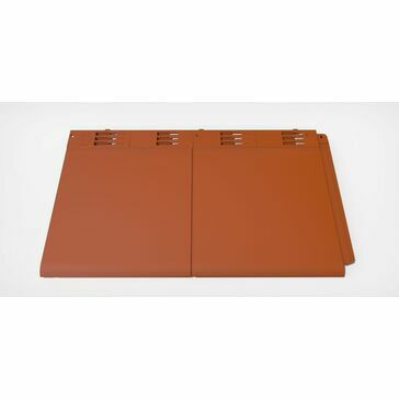 Envirotile Lightweight Plastic Double Roof Tile (Pack of 10)