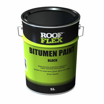 Roof Flex Black Bitumen Paint