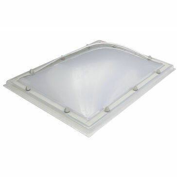 Em Dome R23b Diffused Rooflight - 1300 x 2500mm