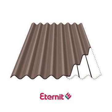 Eternit Profile 6 Fibre Cement Roofing Sheets - Bracken