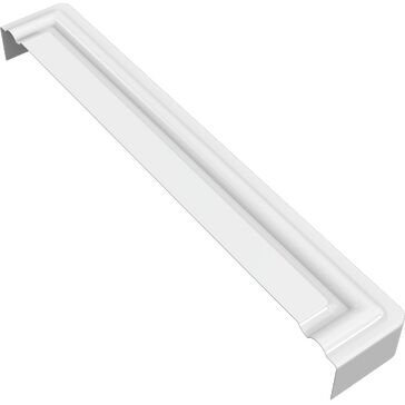 Freefoam Ogee Fascia Moulded Corner Piece - White