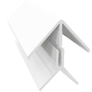 Freefoam Cladding 2 Part Corner Trim 3m