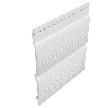 Freefoam 300mm Double Shiplap Fortex Embossed Cladding (5m)